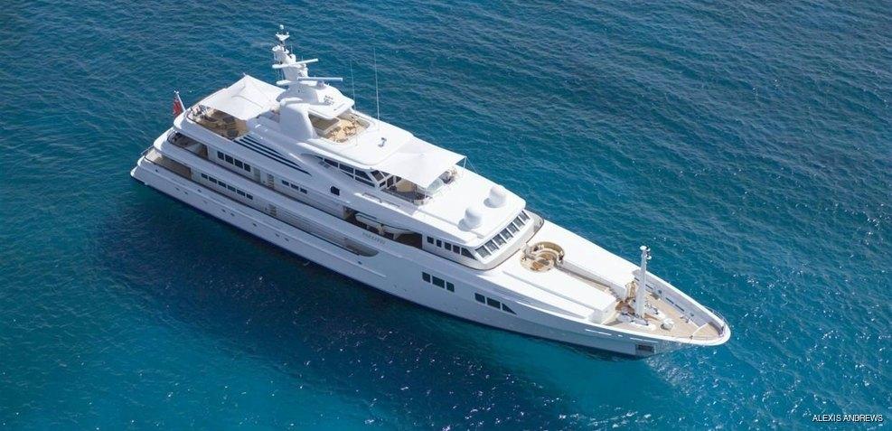 Paraffin Charter Yacht