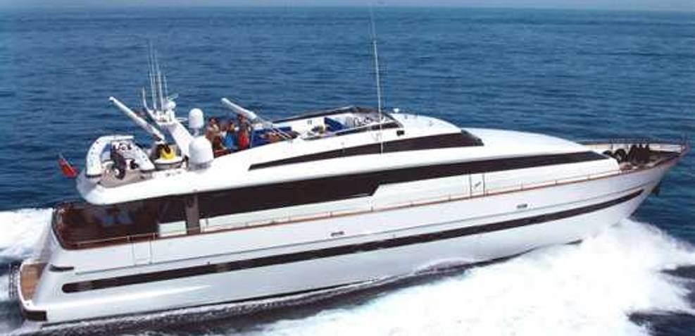 African Queen D Charter Yacht