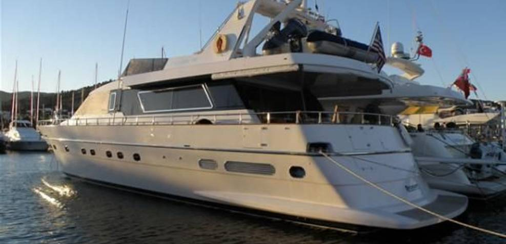 Canados 78 Charter Yacht