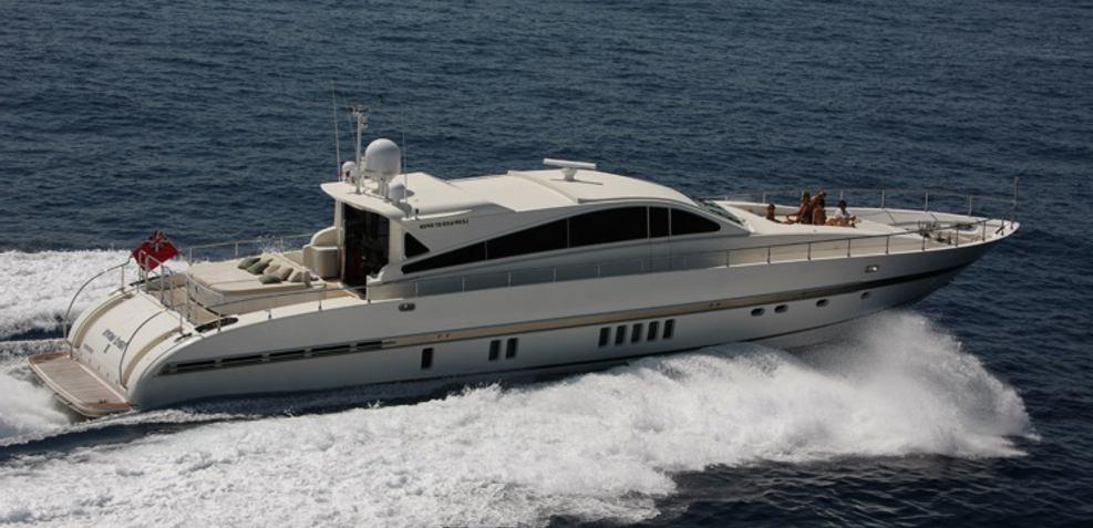 Hard Work II Charter Yacht