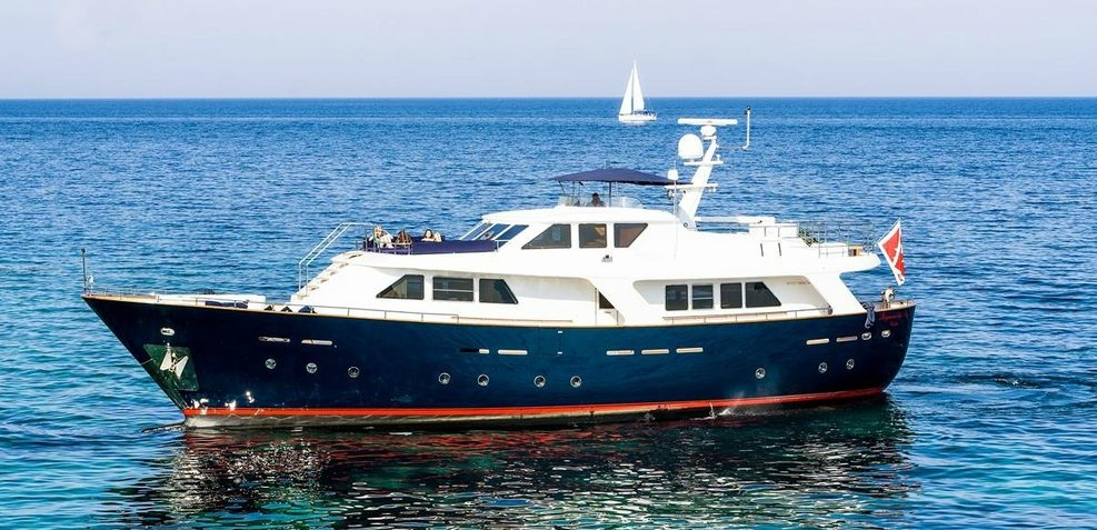 Raymond Du Puy Charter Yacht