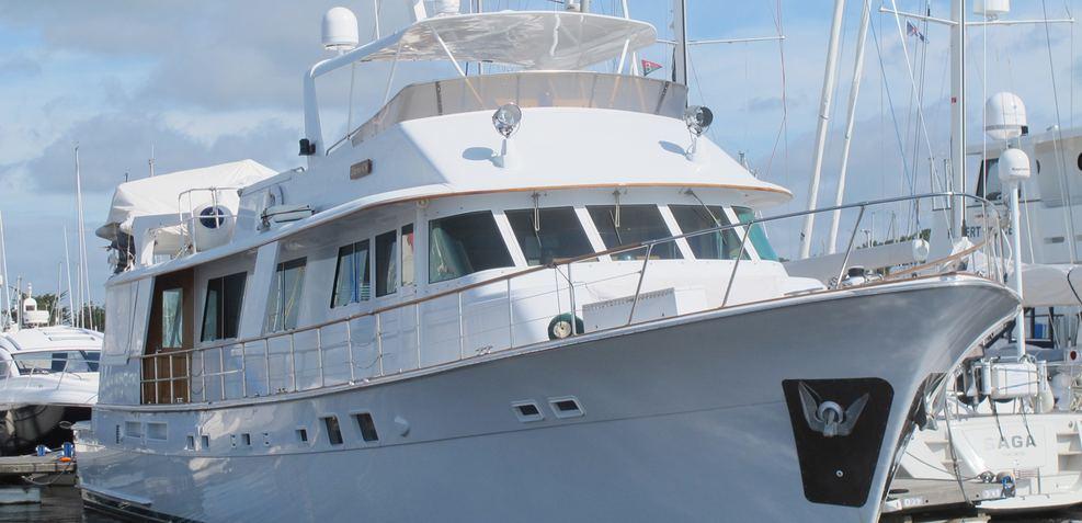 Nine Charter Yacht