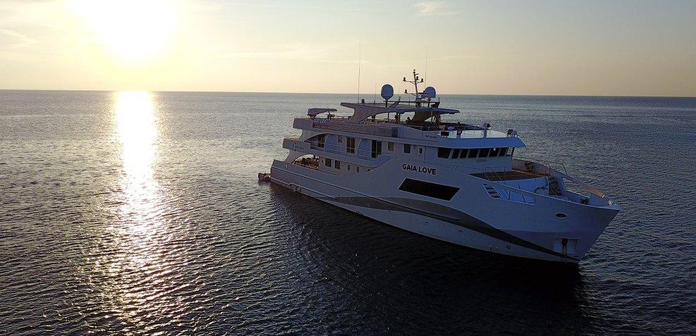 Gaia Love Charter Yacht
