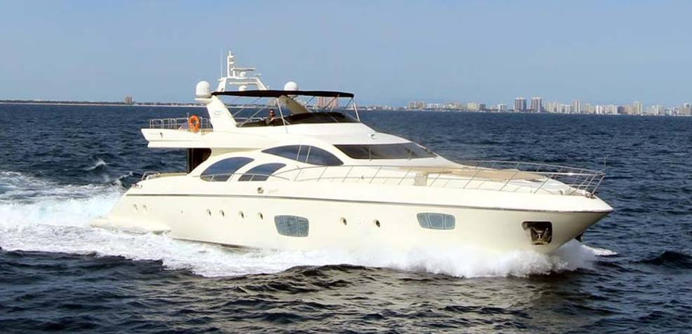 Intervention Charter Yacht