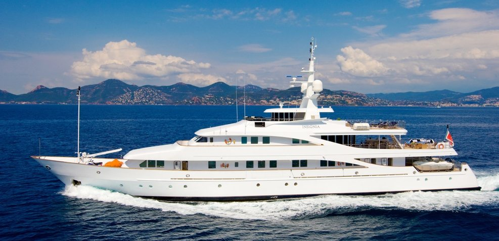 Insignia Charter Yacht