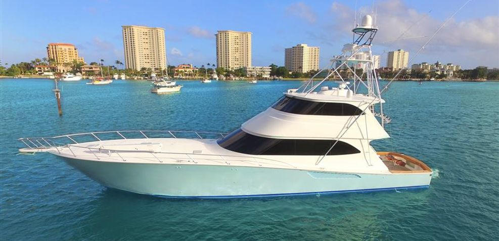Double Barrel Charter Yacht