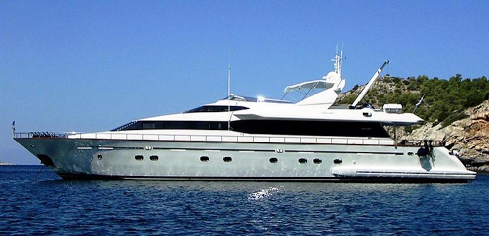 Falcon Island Charter Yacht