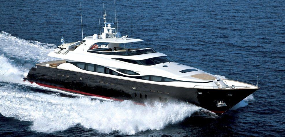 M Charter Yacht