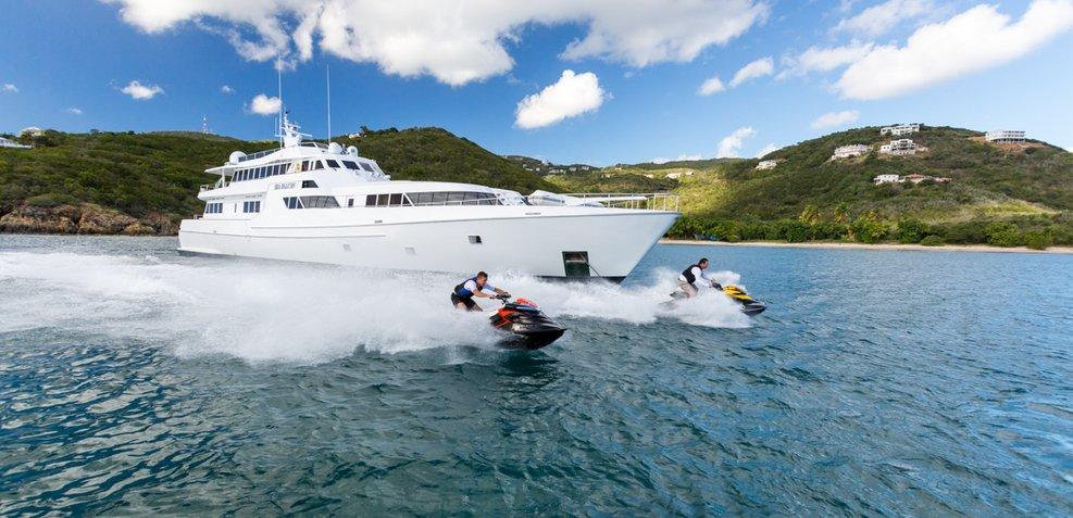 Sea Falcon Charter Yacht