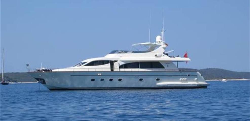 Aramis A Charter Yacht