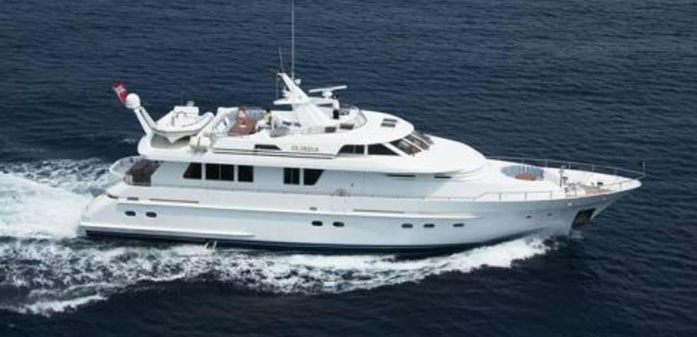 Olindia Charter Yacht
