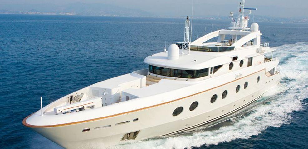 Queen Aida Charter Yacht