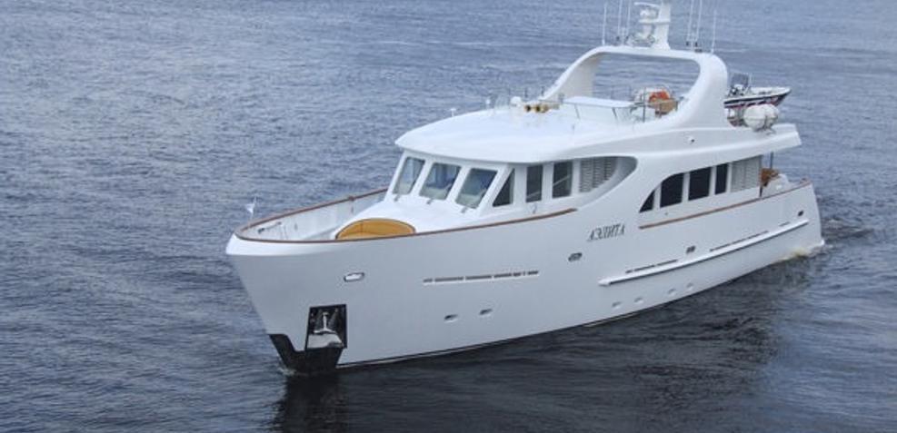 Aelita Charter Yacht