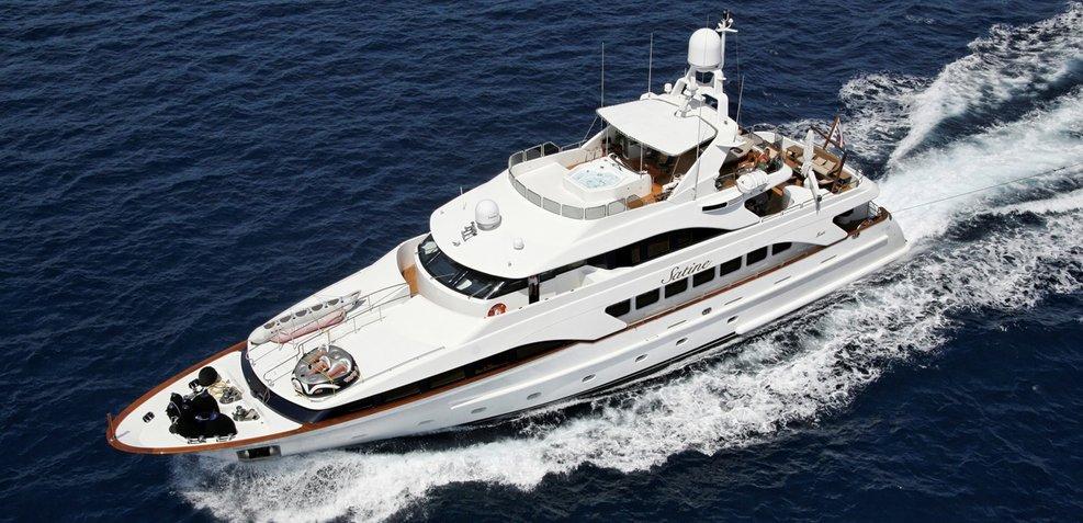 Satine Charter Yacht