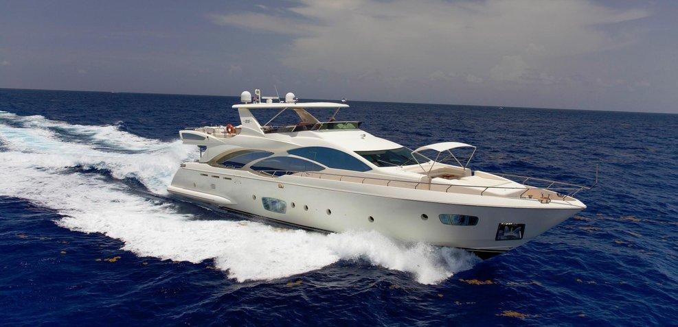 Sand Castle Charter Yacht