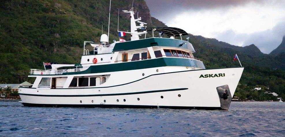 Askari Charter Yacht