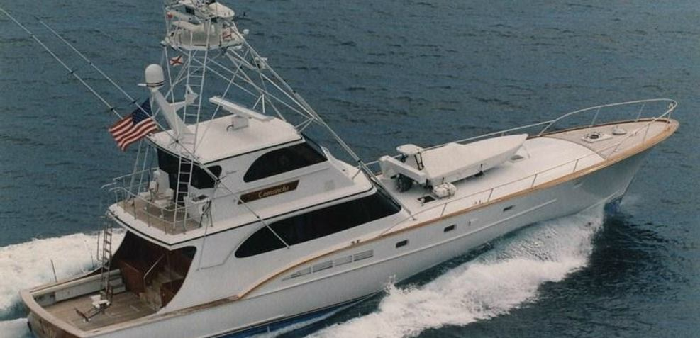 Comanche Charter Yacht