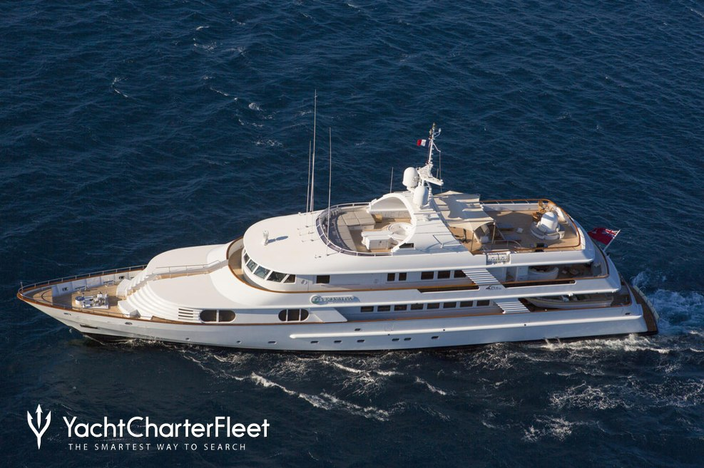 Azul V Charter Yacht