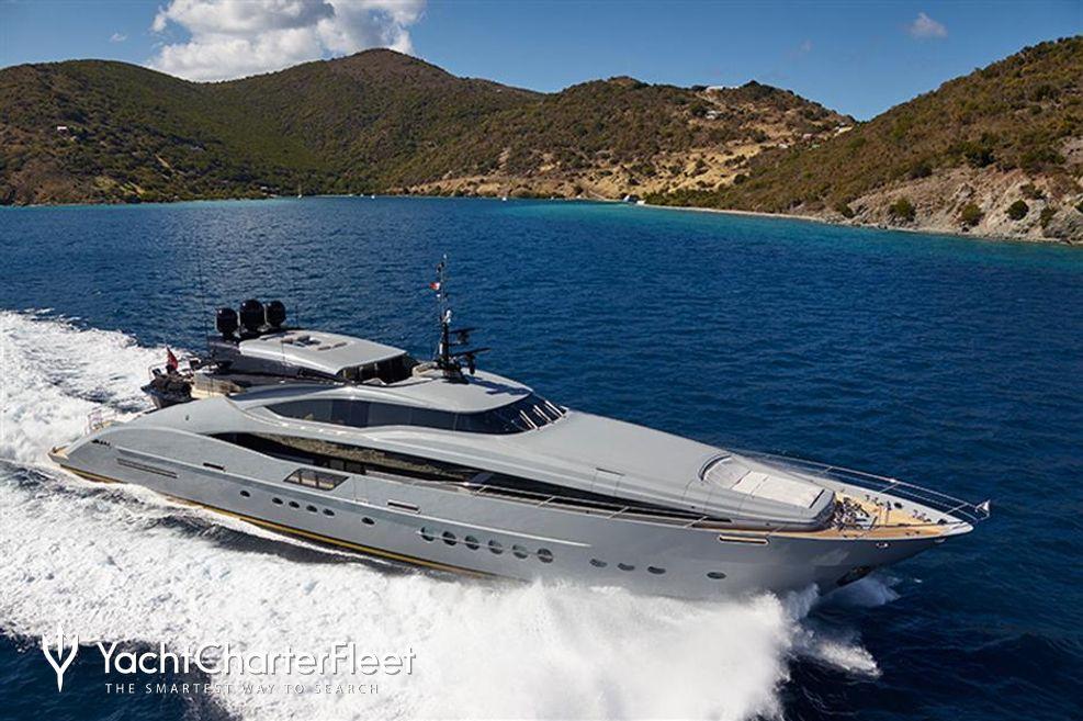 Grey Matters Charter Yacht