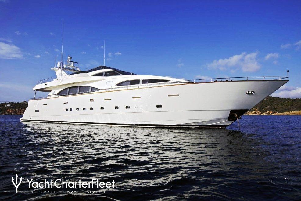 Lady Pamela Charter Yacht