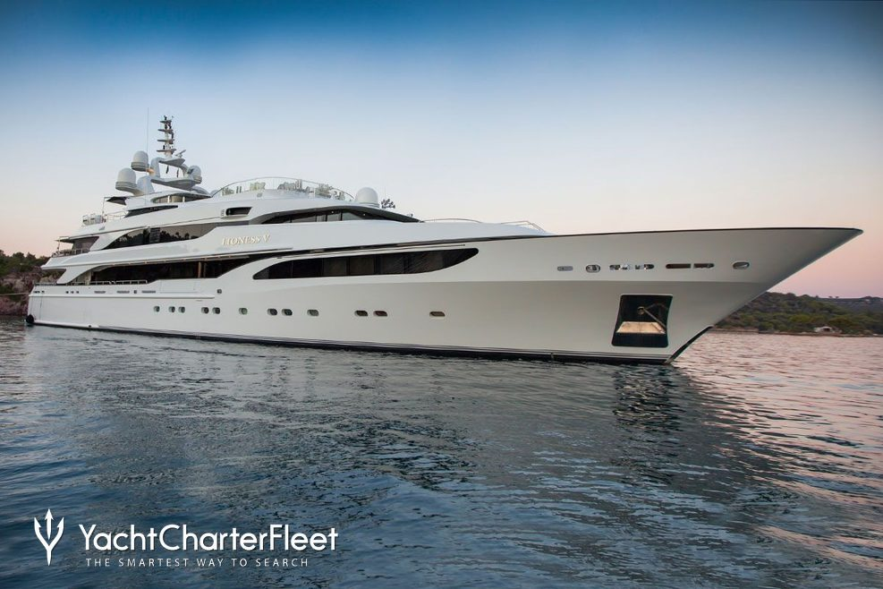 Lioness V Charter Yacht