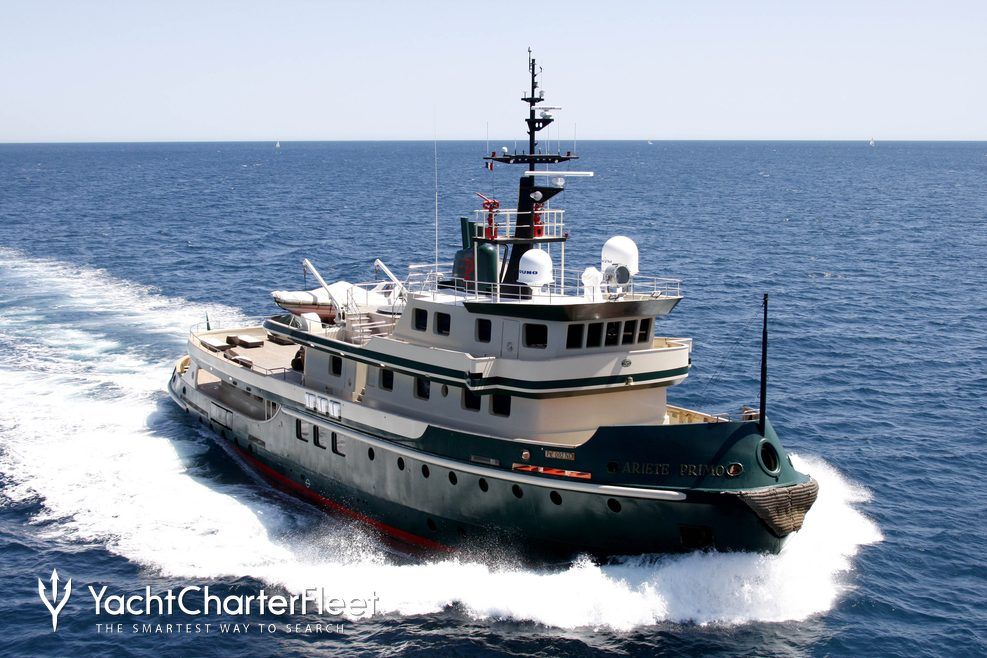Ariete Primo Charter Yacht