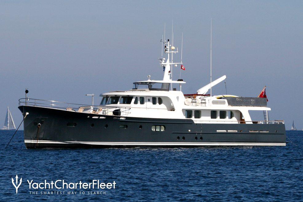 Alexandria Charter Yacht