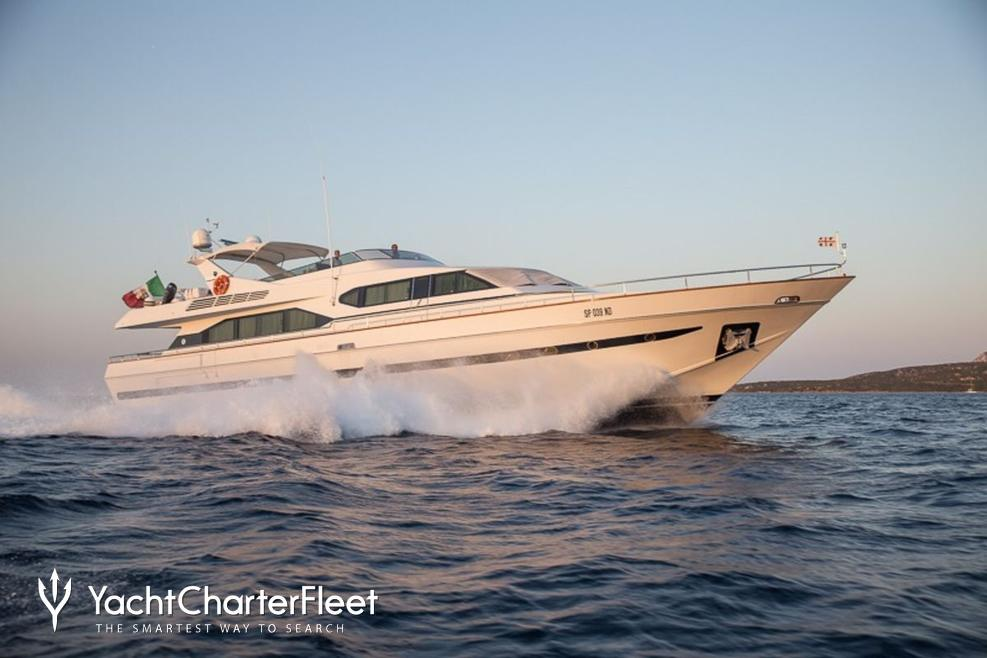Pierpaolo IV Charter Yacht