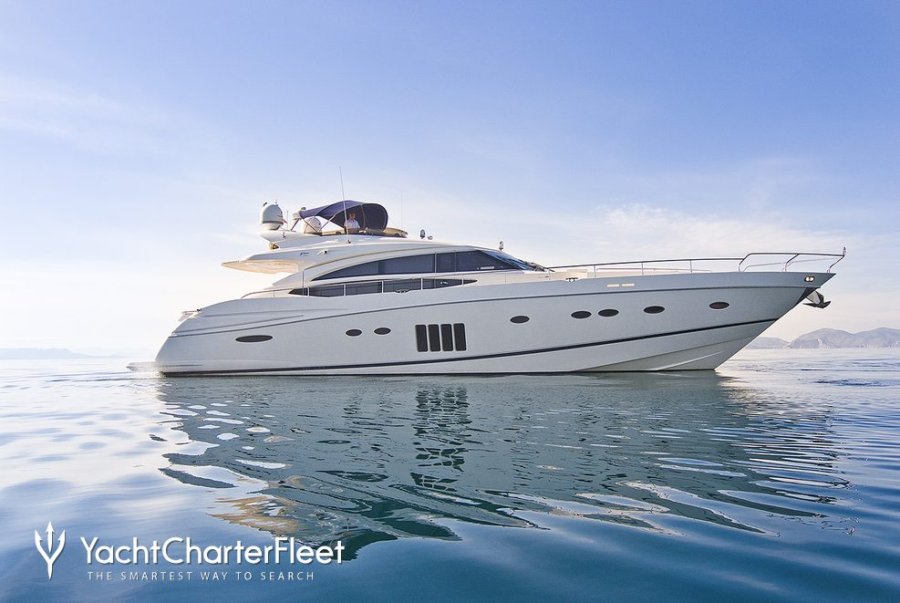 Catherine Charter Yacht
