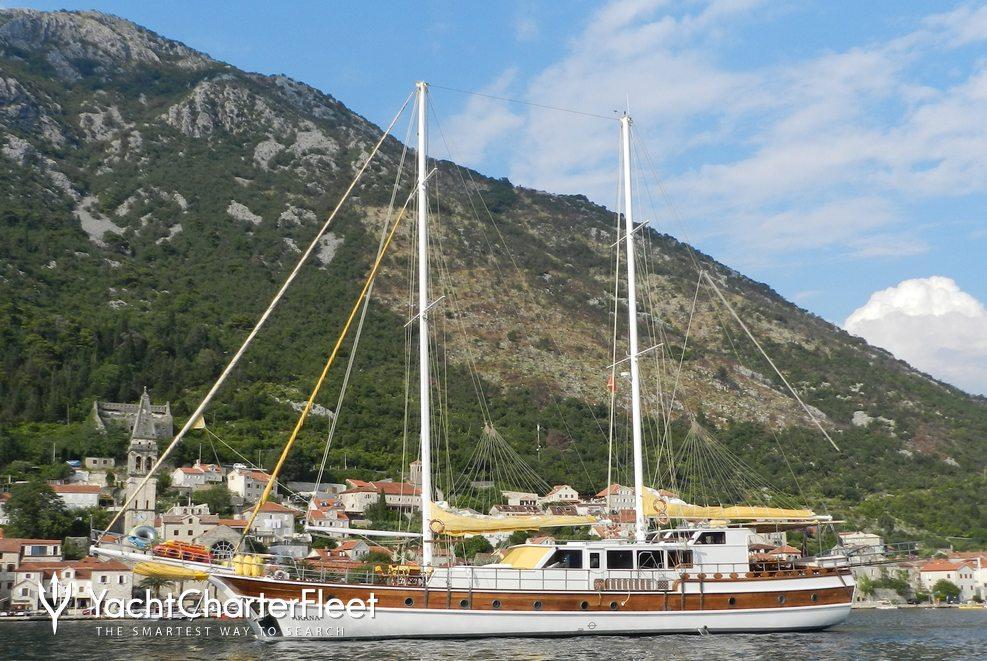 Akana Charter Yacht