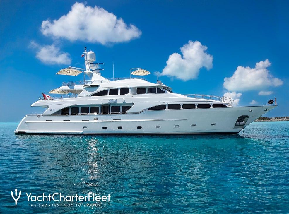 Siete Charter Yacht