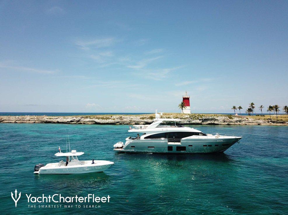 Hot Pursuit Charter Yacht
